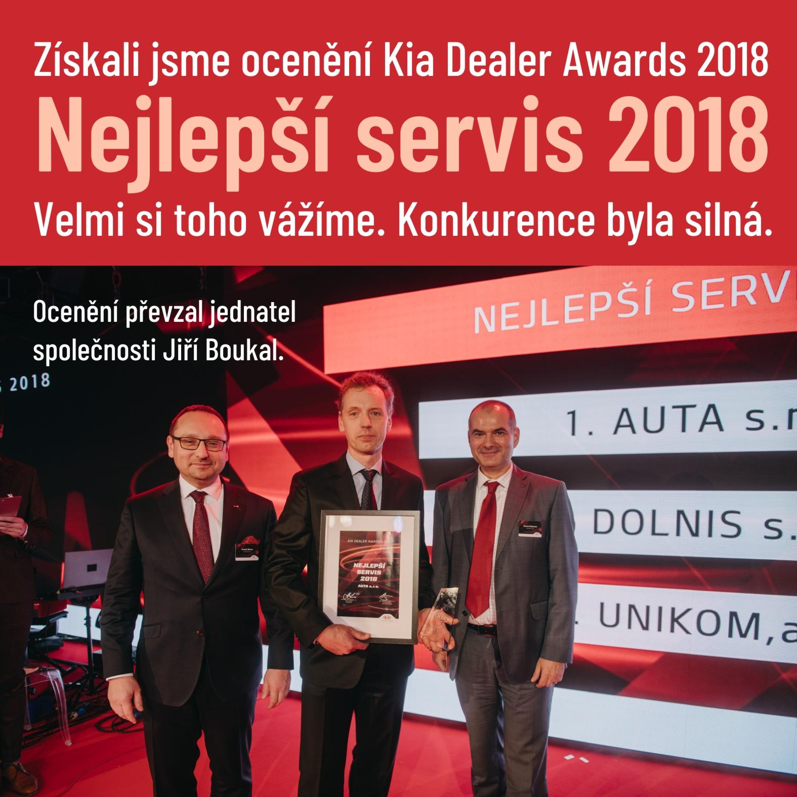 Nejlepší servis Kia v roce 2018