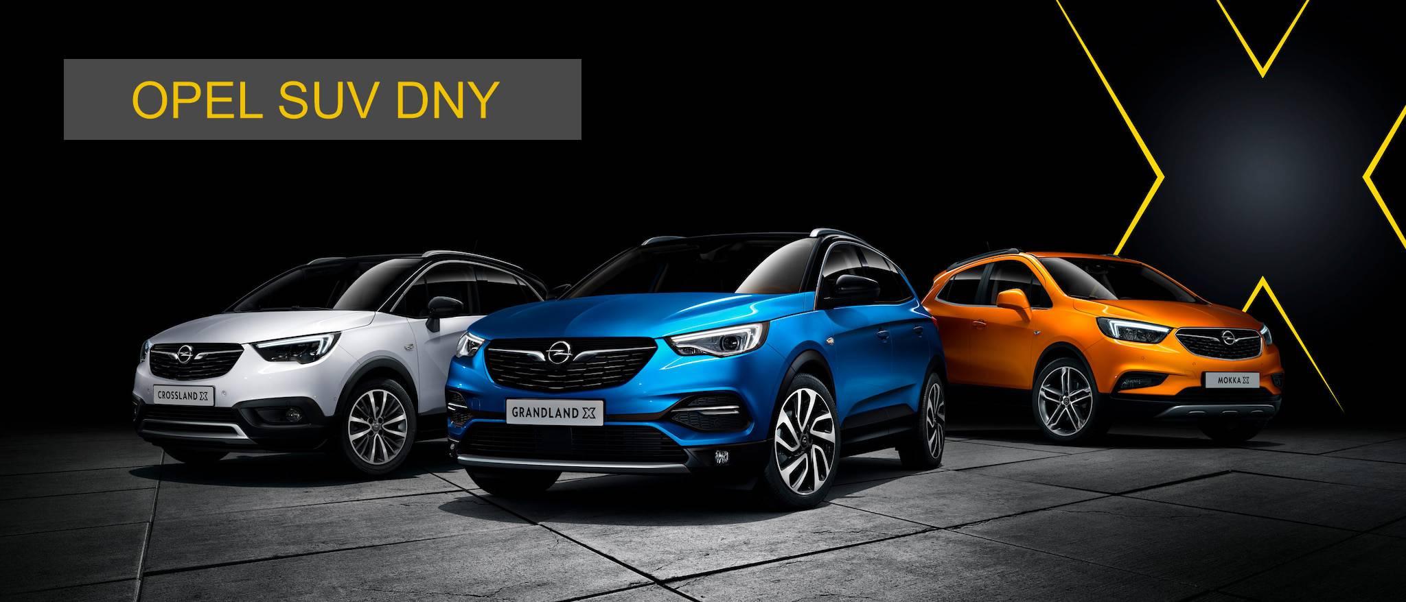 Opel SUV dny