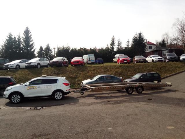 Vapp Ostatní Přívěs pro přepravu vozidel